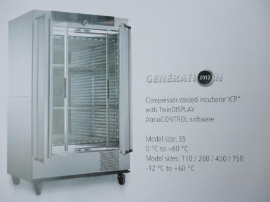 Compressor Cooled Incubator Model ICP